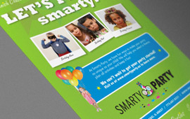 Smarty Party Ad in Time Out Chicago