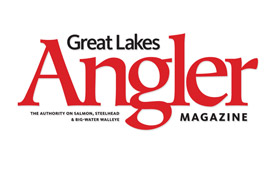 Great Lakes Angler Magazine Logo Design